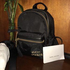 Marc Jacobs black nylon back pack